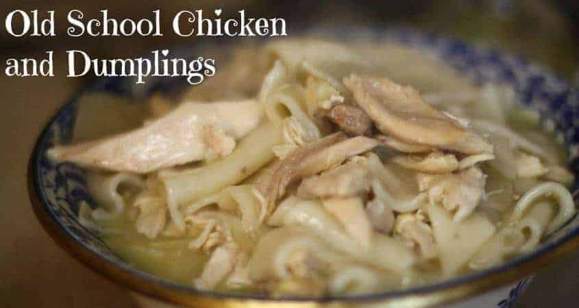 Nancie McDermott's Old School Chicken and Dumplings - Monday Morning ...