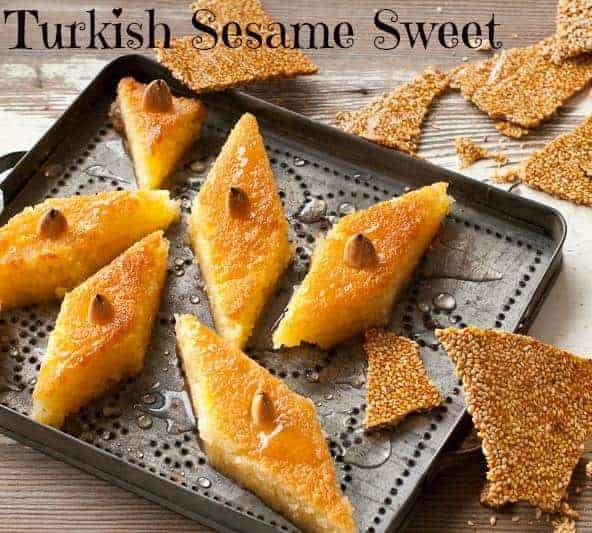 Turkish Sesame Sweet