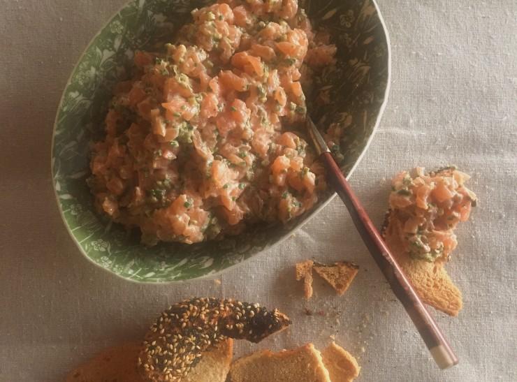 salmon tartare 1