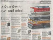Sydney Morning Herald, Good Living, December 2011, Top 10 Cookbooks.