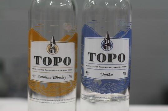 Organic Carolina Whisky and Vodka