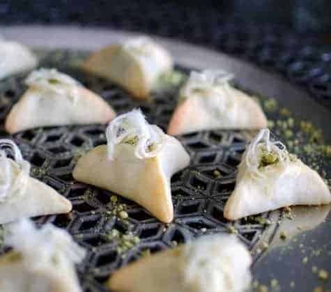 Balsamic fig hamantashen. Photo and recipe by John Bek