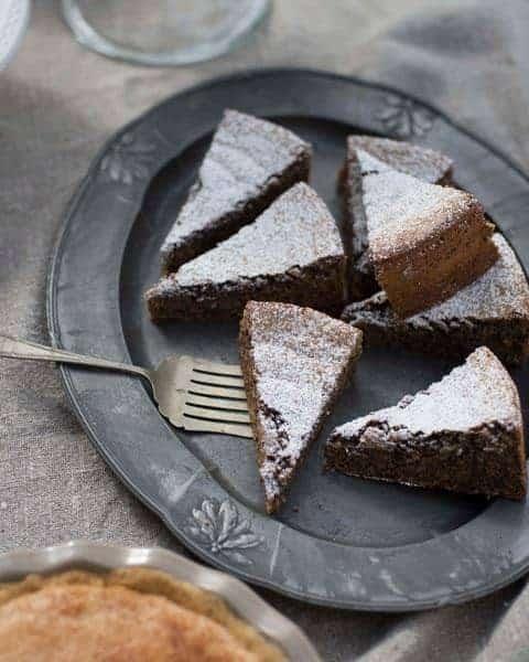 Passover nut cake