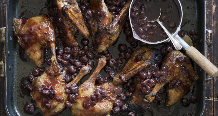 Duck with Cherries p. 141