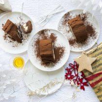xmas buche de chocolat