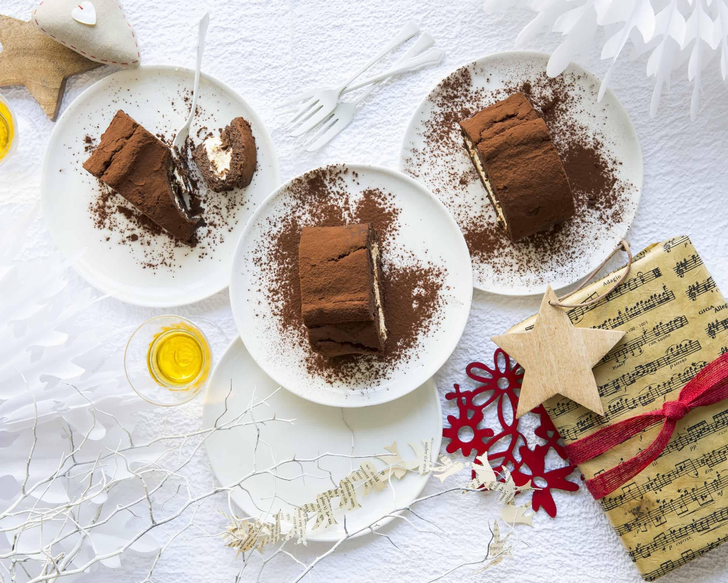 Buche de noel #4 praline caramel et speculoos