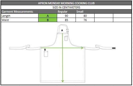 apron dimensions
