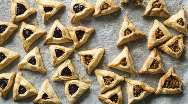 hamantashen Purim Jewish tradition triangular pastry