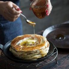 mufelta yeasted stacked pancakes moroccan sephardi jewish dish for mimouna