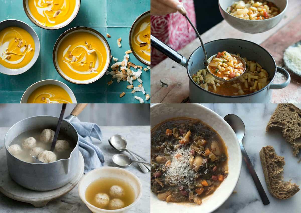 easy recipe soups winter warmers