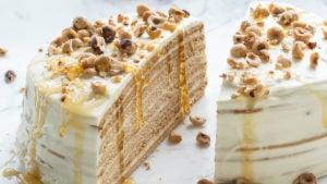 Cake Class Russian Layered Honey Cake